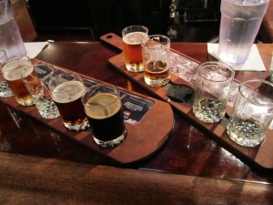 Beer Samplers, Town Hall Brewery, Minneapolis
