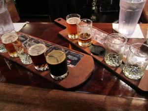 Beer Samplers, Town Hall Brewery, Minneapolis