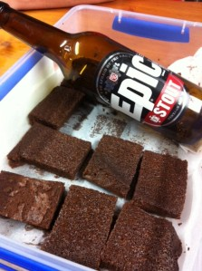Epic Thornbridge Stout Choc Brownies